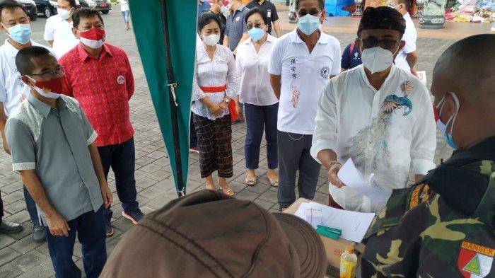 Wali Kota Denpasar Jaya Negara Tinjau Vaksinasi Covid-19 di Vihara Satya Dharma Benoa