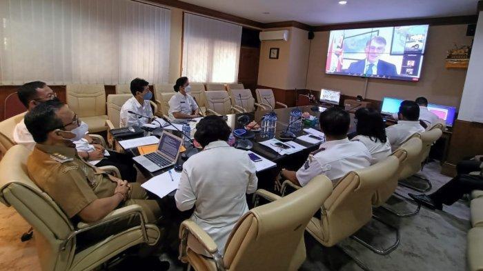 Jaya Negara Virtual Meeting dengan Dubes Inggris, Jajaki Kerjasama & Bahas Berbagai Isu Strategis