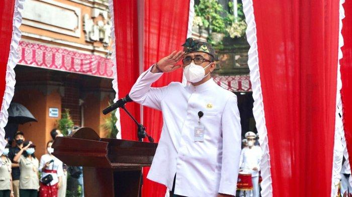Jaya Negara Pimpin Apel HUT Kota Denpasar, Bangun Kota Kreatif Berbasis Budaya Menuju Denpasar Maju