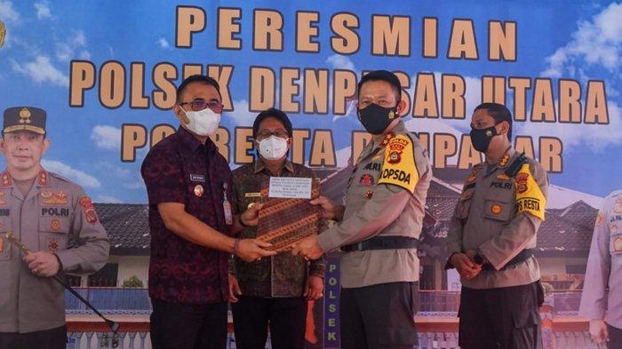 Polsek Denpasar Utara Diresmikan, Jaya Ajak Terus Optimalkan Sinergitas Dukung Pelayanan Kamtibmas