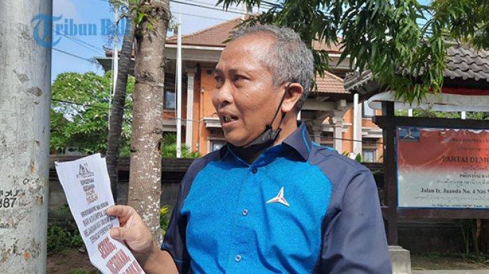 Muncul Selebaran Ajak Rusuh & Menjarah saat Demo di Depan Kantor Demokrat Bali, Mudarta Lapor ke AHY