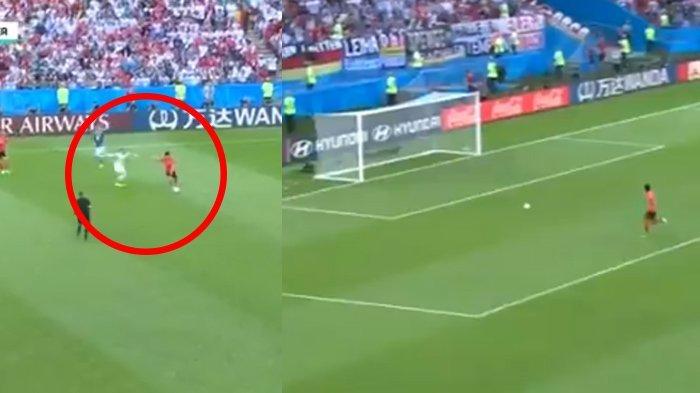 Jerman vs Korsel : Detik-Detik Gol Korea Belok Ke Gawang Jerman yang Melompong 'Ditinggal' Kiper