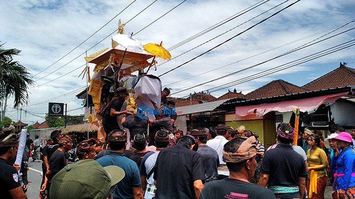 PPKM Jawa Bali Masih Berlaku, Warga Badung Dilarang Menggunakan Bade saat Ngaben dan Resepsi Nikah