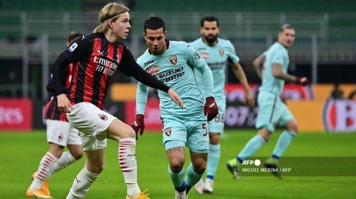 UPDATE AC Milan: SOSOK Jens Petter Hauge, Talenta Penting AC Milan, Terbantu Zlatan Ibrahimovic