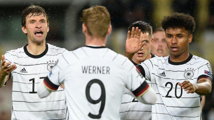 Jerman Lolos ke Piala Dunia 2022 Setelah Melibas Makedonia Utara 4-0