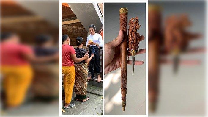 Kagumi Sosok Dewa Hanoman, Jero Balian Bayu Tiba-tiba Dapat Hadiah Gada