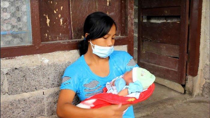 Bayi di Desa Sepang Buleleng Lahir dengan Kelainan Kelamin, Kini Orangtua Terkendala Biaya untuk USG