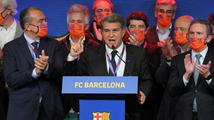 Barcelona Isyaratkan Mundur dari European Super League, Laporta: Barcelona adalah Tim Milik Socios