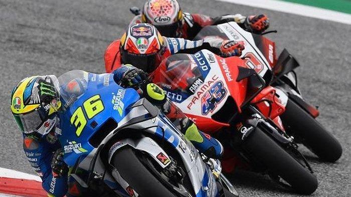 Sore Ini Jadwal Sesi FP1 dan FP2 MotoGP Qatar 2021: Sengitnya Duo Pebalap Suzuki, Yamaha dan Ducati