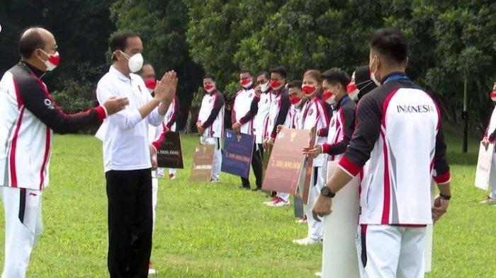 UPDATE: Jokowi Serahkan Bonus Rp 5,5 Miliar ke Greysia Polii/Apriyani, Peraih Medali Emas Olimpiade