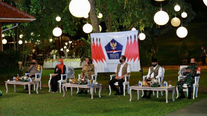 Jokowi ke Banyuwangi Bawa Pesan New Normal Wisata Wajib Diiringi Protokol Ketat