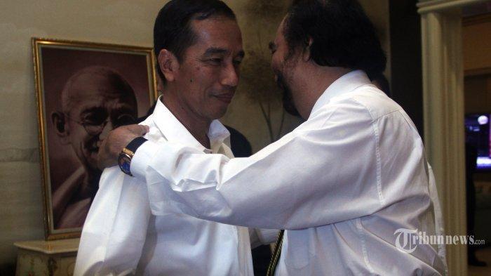 Jokowi Sindir Surya Paloh Soal Pelukan Dengan Sohibul Iman, Pengamat Imbau Jangan Anggap Remeh
