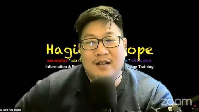 Jozeph Paul Zhang Mengaku Sudah Lepas Status Kewarganegaraan Indonesia