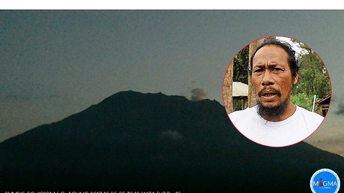 Jro Mangku Mokoh Muspa di Puncak Gunung Agung, 'Suara Angin Seperti Desiran Ombak', Ini Keyakinannya