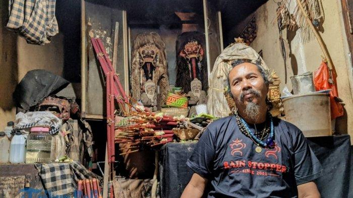 Cemoohan yang Diterima Pawang Hujan Jro Pasek, Sang Pawang Yakini itu Bagian dari Rwa Bhineda