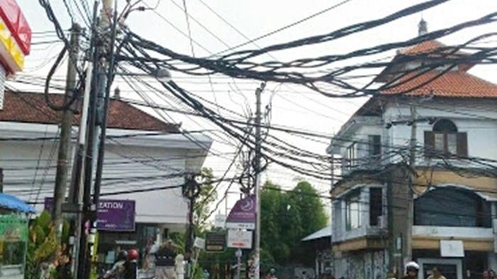 REPORTASE WARGA - Kabel Semrawut di Jalan-jalan Protokol Denpasar