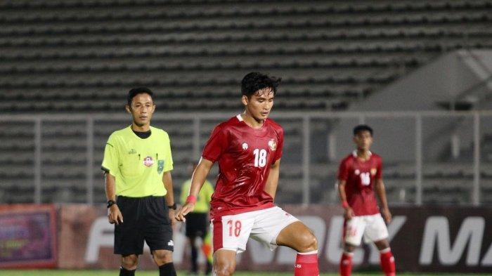 Kadek Agung membela Timnas U-23 di Stadion Madya Senayan Jakarta belum lama ini.