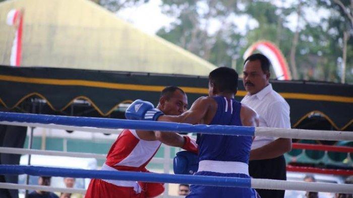Kadak Agus Gagalkan Petrus Janggan, Petinju Denpasar Masih Amankan Tempat ke Final