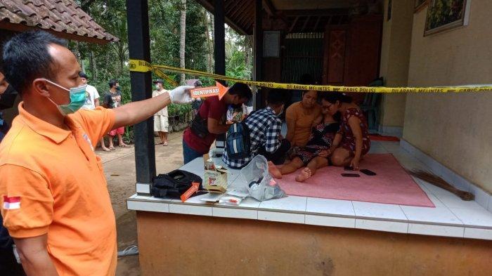 Kadek Ardiasih terduga pelaku pencurian pasca kejadian perampokan yang terjadi di Kamis 7 Oktober 2021.
