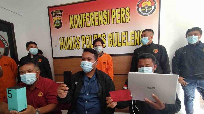 Gaji Jadi Cleaning Service Tak Cukup, Darmawan Curi Ponsel dan Notebook Milik Bosnya di Buleleng