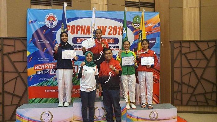 Lagi, Atlet TaekwondoPersembahkan Medali di Popnas XV/2019