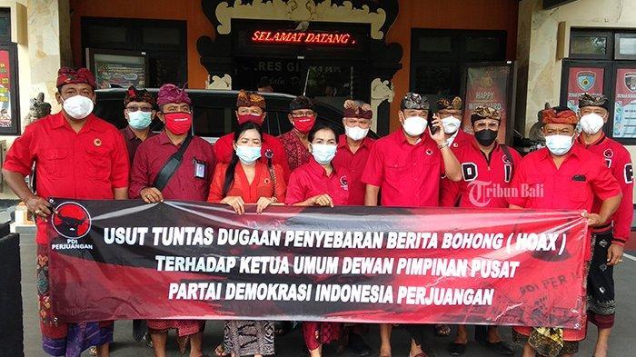 PDIP Gianyar Laporkan Penyebar Hoax Megawati Sakit Parah