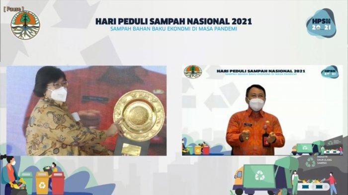 Peringatan Hari Peduli Sampah, Badung Raih Penghargaan Peringkat 4 Nasional Dalam Pengelolaan Sampah