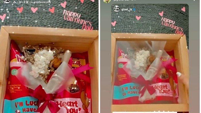 Saat Gisel Sedang Hadapi Cobaan, Wijin Berikan Bingkisan Romantis Ini Tepat di Hari Valentine
