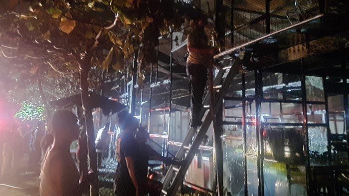 Kafe Es Krim Gelato di Ubud Ludes Terbakar, Belum Genap Dua Pekan Dibuka, Kerugian Rp 2,5 Miliar