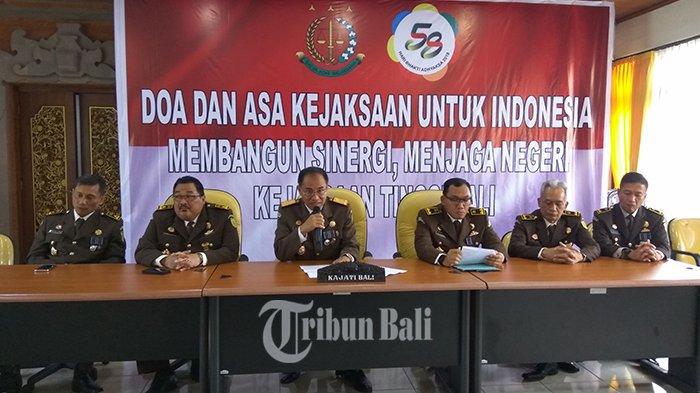 Penangangan Tipikor Kejati dan Kejari Bali 2017 hingga Juli 2018 Selamatkan Uang Negara Rp 12 Miliar