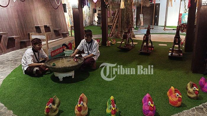 Menengok Kehidupan Masyarakat Bali di Kampung Langit The Keranjang