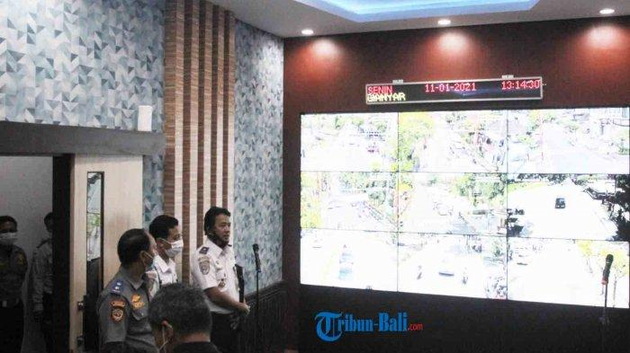 Topik Berita Gianyar Pantau Lalu Lintas Gianyar Tambah Ruang Pusat Kendali Atcs Tribun Bali