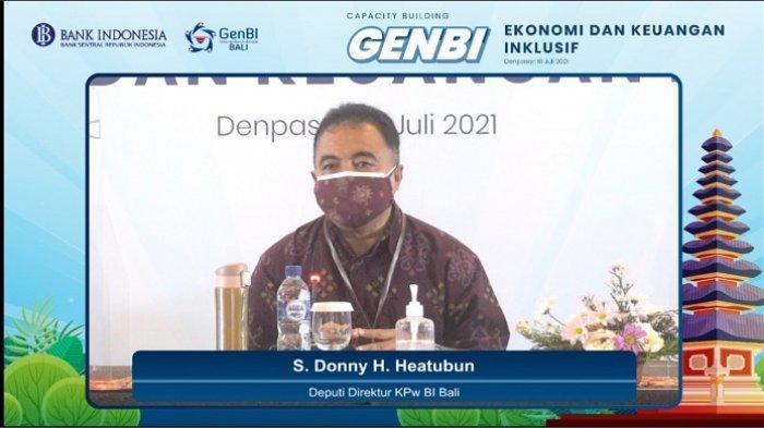 Bank Indonesia Perwakilan Bali Lakukan Capacity Building untuk Mahasiswa Penerima Beasiswa