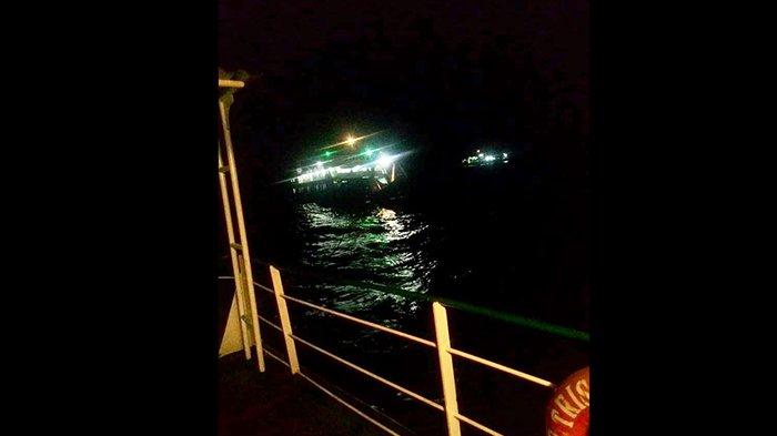 Mesin Kapal Mati Malam-Malam di Selat Bali, Tronton Terjungkal di Geladak Kapal, Suara Histeris!