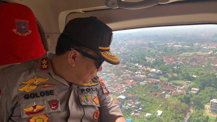 Pantauan Udara Kondisi Lalu Lintas Terkini di Bali, Ini Kondisi Sanur, Kuta, Jimbaran dan Tabanan