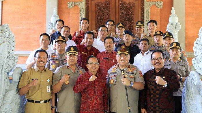 Kapolda Bali dan Gubernur Bali Bertemu, Ini Hal Penting yang Mereka Bicarakan