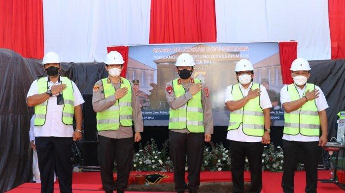 Polda Bali Dirikan Gedung Baru Dit Reskrimsus, Disokong APBD Badung Rp38,7 Miliar
