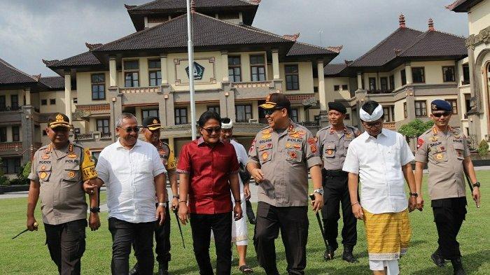 Lakukan Pemantauan Keamanan Nataru, Kapolda BaliSebarkan Toleransi di Kabupaten Badung