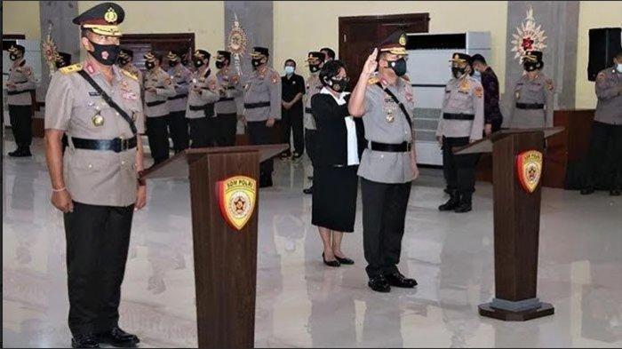 Empat Perwira Polda Bali Dimutasi, Dir Lantas Polda Bali Kombes Indra: Terima Kasih Kerja Samanya Ya