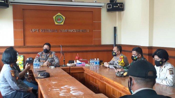 Kapolda Bali Monitoring Tracing Puskesmas Tampaksiring, Apresiasi Nakes