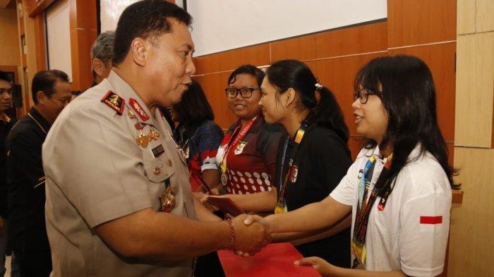 Kapolda Bali Mengapresiasi Peraih Emas dalam Kompetisi Menembak di Kalsel
