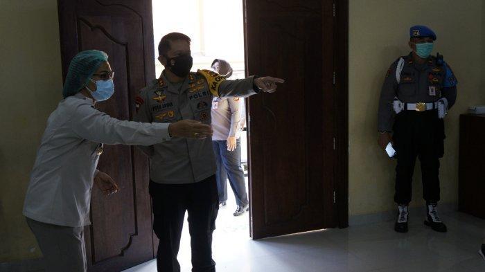 Bhabinkamtibmas Polres Klungkung Jalani Vaksinasi, Kapolda Bali: Laksanakan Sebaik-baiknya