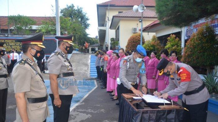 Sejumlah Perwira di Polres Karangasem Dimutasi, Kapolres: Selamat Datang dan Selamat Bergabung