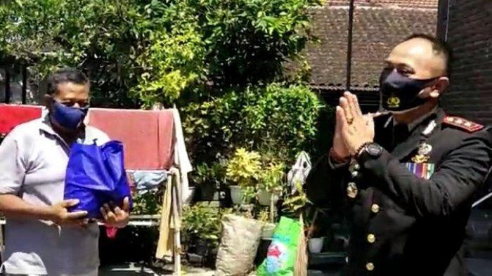 HUT RI ke-76, Polres Jembrana Salurkan Sembako