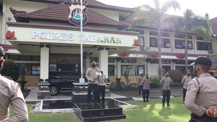 32 Bintara Remaja Polda Bali Bantu Tracing di Tabanan, Diturunkan ke Zona Merah Covid-19