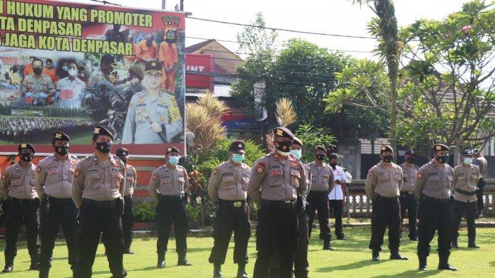 Jelang Hari Raya Idul Fitri, Polresta Denpasar Siapkan 143 Personil Dalam Kegiatan KRYD 2021