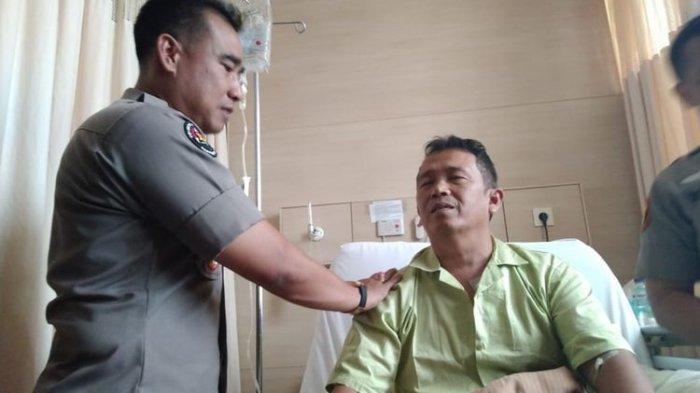 Cerita di Balik Penusukan Kapolsek yang Menolong Wiranto, Tak Sadar Ditusuk Sampai Darah Merembes