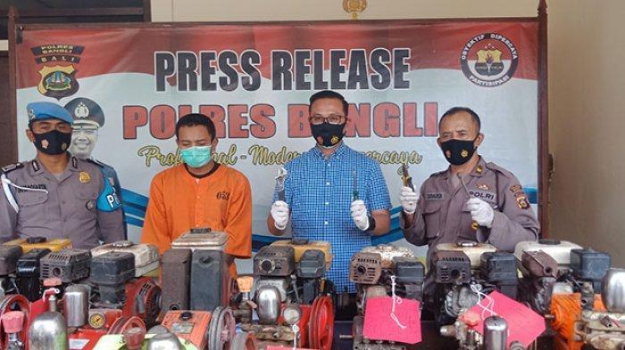 Lakukan Pencurian di Wilayah Bangli dan Gianyar Bali, Edi Ditangkap Saat Menuju Kos Pacar