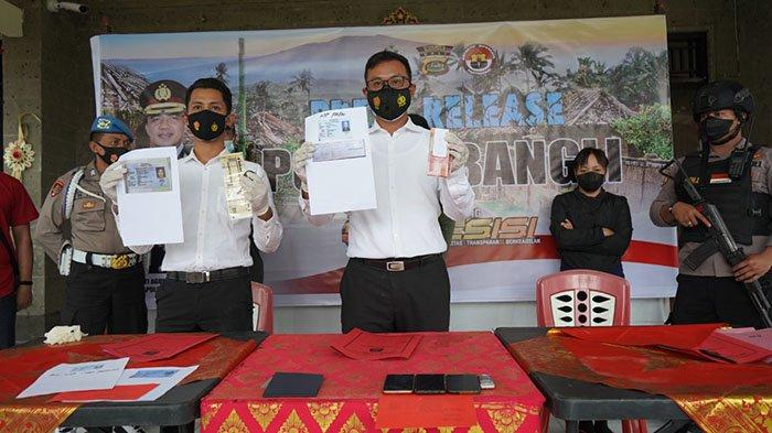 Modus Pura-pura Rental Mobil Lalu Digadaikan,3 Pelaku Penggelapan Diringkus Satreskrim Polres Bangli