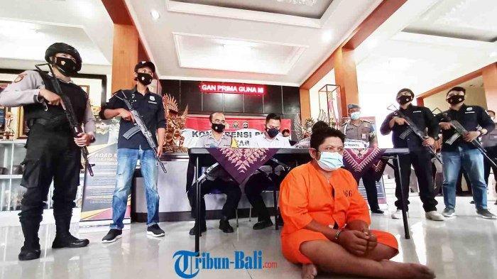TERKINI – Pelaku Penusukan di Desa Riang Gede Tabanan Adalah Residivis Kasus Pencurian dan Togel